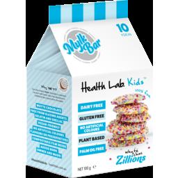 Photo of Health Lab Kids White Choc Zillions Mylk Bar 100g