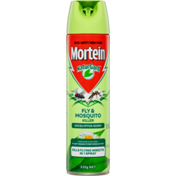 Photo of Mortein Naturgard Eucalyptus Scent Fly & Mosquito Killer Spray 320g