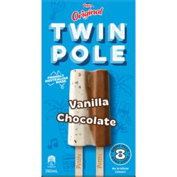 Photo of Peters Original Twin Pole Vanilla Chocolate 8 Pack 590ml