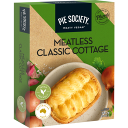 Photo of Pie Society Meatless Classic Cottage Pie 2 Pack 580g
