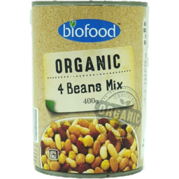 Photo of Biofoods Organic 4 Bean Mix 400g