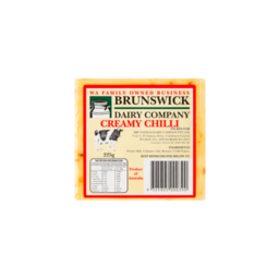 Photo of Brunswick Dairy Co Cheese Cheddar Chilli (225g)