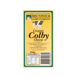 Photo of Brunswick Colby Cheese 250gm