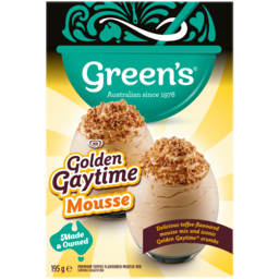 Photo of Greens Golden Gaytime Mousse 195g