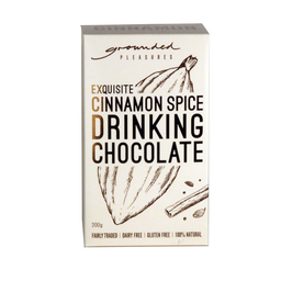 Photo of Grounded Pleasures Cinnamon Dark Drinking Chocolate (200g)