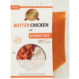 Photo of Coco Earth Butter Chicken With Basmati Rice 400g