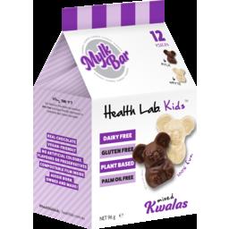 Photo of Health Lab Kids Kwalas Mixed Mylk Bar 96g