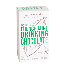 Photo of Grounded Pleasures French Mint Drinking Chocolate (200g)