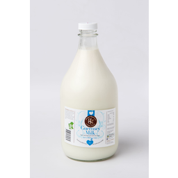 Photo of The Good Grocer Collection A2 Guernsey Milk Glass