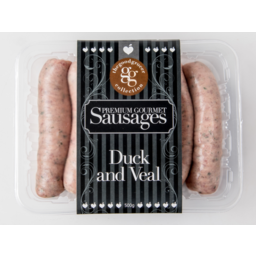 Photo of The Good Grocer Collection Premium Gourmet Duck & veal Sausage