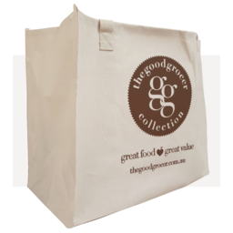 Photo of The Good Grocer Collection Reusable Cotton Bag