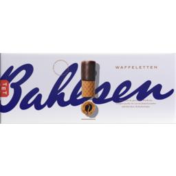 Photo of Bahlsen Waffeletten Dark Chocolate Biscuits 100g