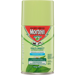 Photo of Mortein Naturgard Multi-Insect Automatic Spray Refill 152g