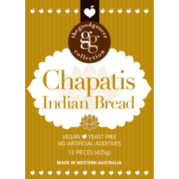 Photo of The Good Grocer Collection Chapatis Bread