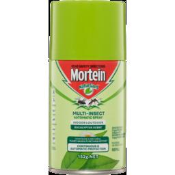 Photo of Mortein Naturgard Eucalyptus Multi-Insect Automatic Spray Refill 152g