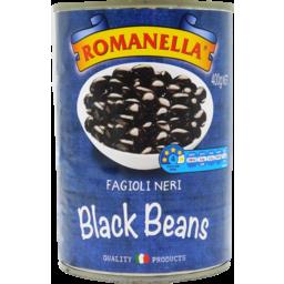 Photo of Romanella Black Beans 400g
