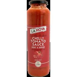 Photo of La Nova Heat & Serve Tomato & Chilli Sauce 680g