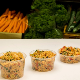 Photo of Brown Rice Salad (Medium)