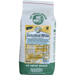 Photo of All About Bread Dinkelbrot White Spelt 2kg