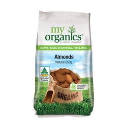 Photo of Trumps Organic Almonds Natural (250g)