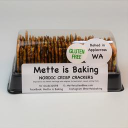 Photo of Mette is Baking Nordic Crackers 135gm