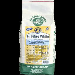 Photo of All About Bread Hi Fibre White 2kg