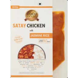 Photo of Coco Earth Satay Chicken With Jasmine Rice 400g