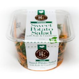 Photo of The Good Grocer Collection Vegan Sweet Potato Salad with kale & Cranberry