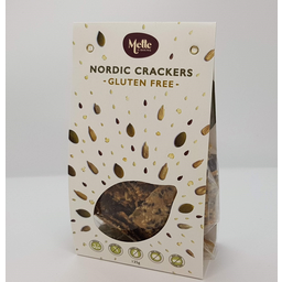 Photo of Mette is Baking Nordic Crackers Gluten Free 135gm