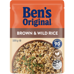 Photo of Bens Original Brown & Wild Rice Pouch 250g