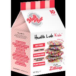 Photo of Health Lab Kids Mylk Choc Zillions Mylk Bar 100g