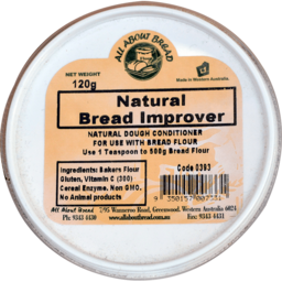 Photo of All About Bread Natural Bread Improver 120g