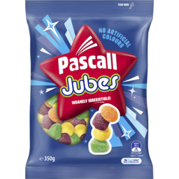 Photo of Pascall Jubes Lollies 350g