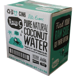 Photo of Raw C Coconut Water 6x1lt