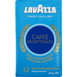 Photo of Lavazza Ground Coffee Decaffeinato 250g 250g