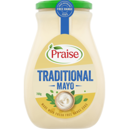 Photo of Praise Mayonnaise Traditional Mayo 700g