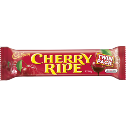 Photo of Cadbury Cherry Ripe Twin Pack 80gm