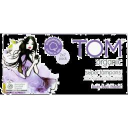 Photo of Tom Organic Super Tampons 2x7pk