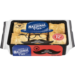 Photo of National Pies Little Sausage Rolls 12 Pack