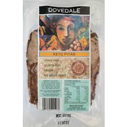 Photo of Dovedale Keto Pita 3 Pack 340g