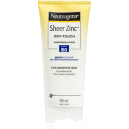 Photo of Neutrogena Sheer Zinc Dry-Touch Sunscreen Lotion Spf 50ml