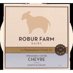 Photo of Rober Farm Plain Chevre 100gm