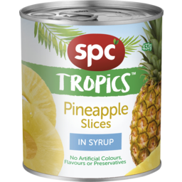 Photo of Spc Tropics Pineapple Slices In Syrup 432g
