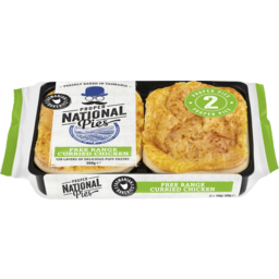 Photo of Nat Curried Chckn Pies 360g 2pk