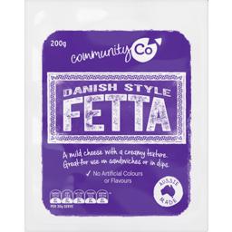 Photo of Community Co. Danish Fetta Cheese 200g
