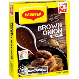 Photo of Maggi Gravy Brown Onion 3 Pack