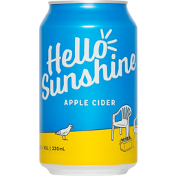 Photo of Hello Sunshine Apple Cider Can