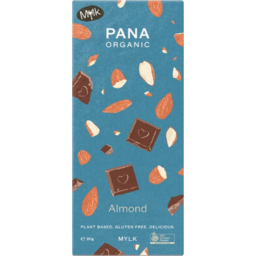 Photo of Pana Chocolate Mylk Almond 80g