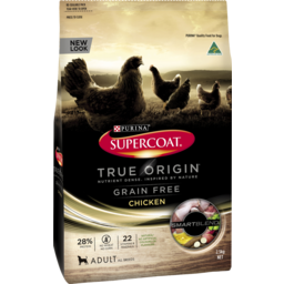 Photo of Purina Supercoat True Origin Grain Free Chicken 2.5kg