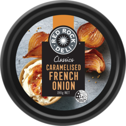 Photo of Red Rock Deli Classic Caramelised French Onion Dip 190g